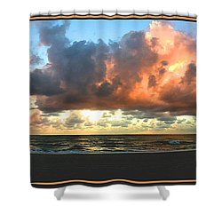 Seeking Peace Shower Curtain