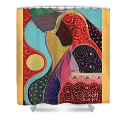 Seeking Shelter Shower Curtain by Helena Tiainen