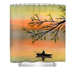 Seeking Solitude Shower Curtain