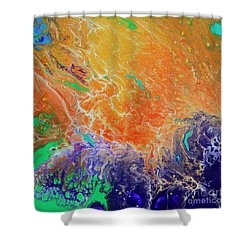 Deep Space Impressions 1 Shower Curtain