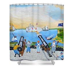 Seige Of Charleston, Sc Shower Curtain