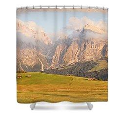 Seiser Alm Shower Curtain