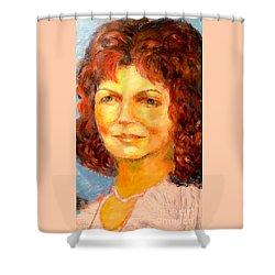 Selfportrait 2018 Shower Curtain