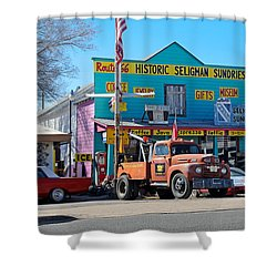 Seligman Sundries On Historic Route 66 Shower Curtain