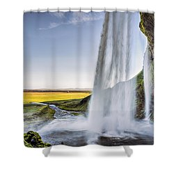 Seljalandsfoss Shower Curtain