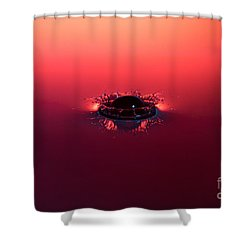 Semi Submerged Droplet Shower Curtain