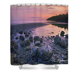 Semiahmoo Bay Shower Curtain