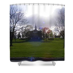 Seminary Ridge Shower Curtain by Adam Cornelison