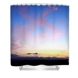 Send Out Your Light Shower Curtain
