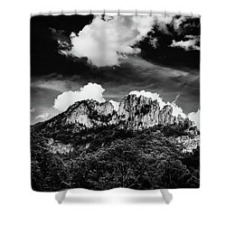 Shower Curtain featuring the photograph Seneca Rocks II by Shane Holsclaw