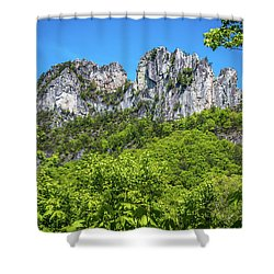 Seneca Rocks Shower Curtain