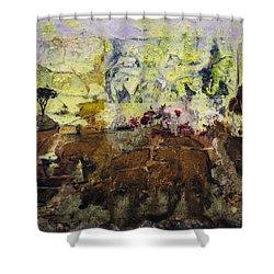 Senegambia Shower Curtain by Ron Richard Baviello