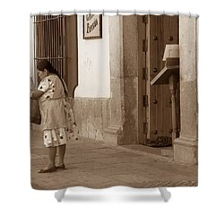 Shower Curtain featuring the photograph Senora by Mary-Lee Sanders