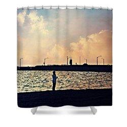 Sensational Sights Shower Curtain by Cyryn Fyrcyd