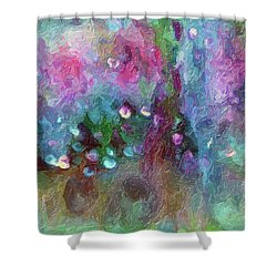 Sensations II  Shower Curtain
