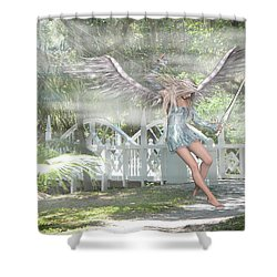 Sent From Heaven Shower Curtain