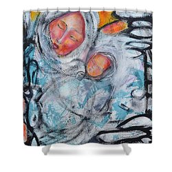 Sentimental Journey Shower Curtain by Gail Butters Cohen
