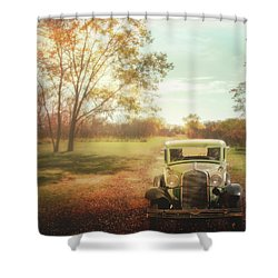 Sentimental Journey Shower Curtain