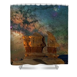 Sentinels Of The Night Shower Curtain