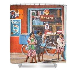 Sentra Shower Curtain by Tim Johnson