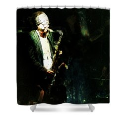 Seoul Saxman Shower Curtain