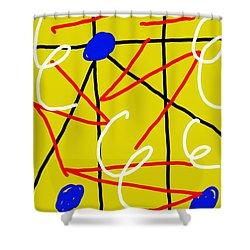 Separation Shower Curtain