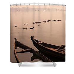 Sepia Dream Shower Curtain