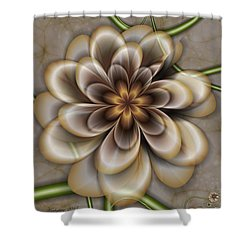 Sepia In Nature Shower Curtain