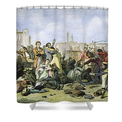 Sepoy Mutiny, 1857 Shower Curtain by Granger