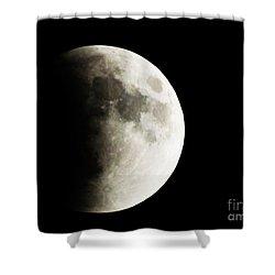 September 27,2015 Moon Eclipse  Shower Curtain
