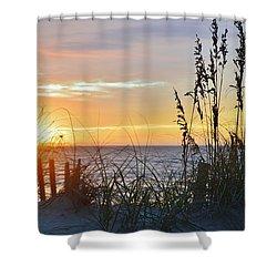 September 27th Obx Sunrise Shower Curtain