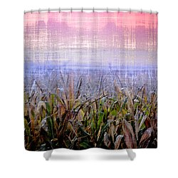 September Cornfield Shower Curtain by Bill Cannon