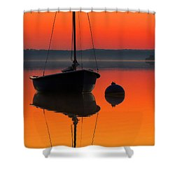 September Dreams Shower Curtain by Dianne Cowen