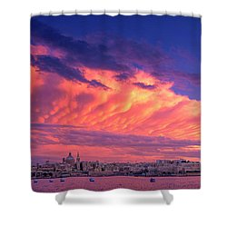 September Ends Shower Curtain