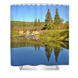 September Shower Curtain by Jim Sauchyn