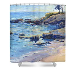 September Light / Laguna Beach Shower Curtain
