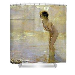 September Morn Shower Curtain