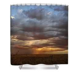 Shower Curtain featuring the photograph September Rain by Karen Slagle