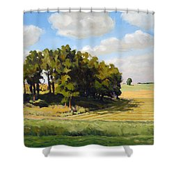 September Summer Shower Curtain