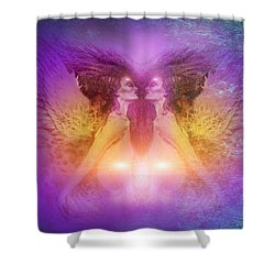 Seraphim Shower Curtain
