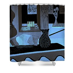 Serenade Haydn Shower Curtain