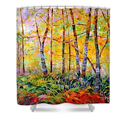 Serenade Of Forest Shower Curtain