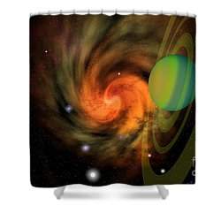 Serendipity Shower Curtain by Corey Ford