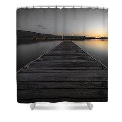 Serene Lake 2 Shower Curtain
