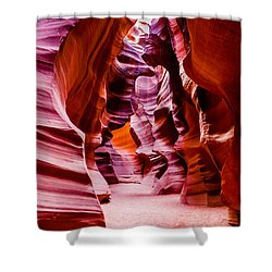 Serene Light Shower Curtain