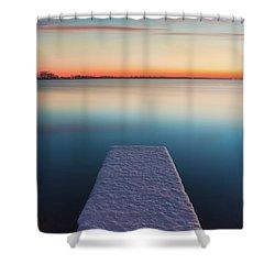 Serene Morning Shower Curtain