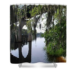 Serene River Shower Curtain