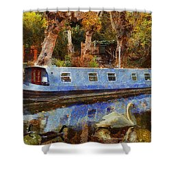 Serene Scene Shower Curtain