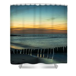 Serene Shore Shower Curtain