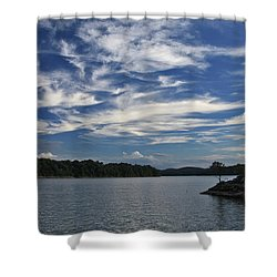 Serene Skies Shower Curtain